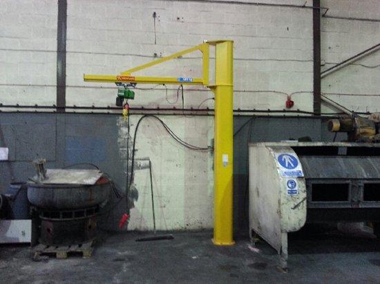 Jib Crane Testing : Jib crane installation testing commissioning