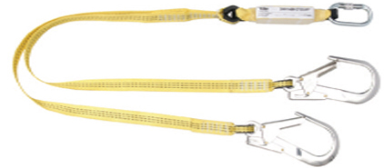 Yale Height Safety Fall Arrest Webbing Lanyard