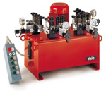 Yale 4-Multiple-Flow Power Pack with Solenoid Directional Valves